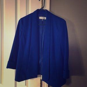Jackets & Blazers - Blue Kasper Blazer